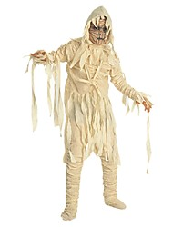 One-Piece/Dress Skeleton/Skull Zombie Cosplay Festival/Holiday Halloween Costumes White Vintage Dresses Top Pants Gloves Headpieces