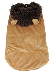 Dog Costume Dog Clothes Cosplay Lion Coffee