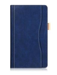Caja de cuero de la PU del patrón del color sólido con la cuerda de la mano para la lengüeta 4 8 (tb-8504fn) del lenovo 8.0 PC de la