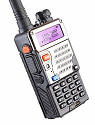 5w 128ch talkie-walkie à deux voies baofeng uv-5re pour la chasse double affichage fm vox uhf vhf radio station radio cb