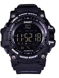 Smart WatchEtanche Longue Veille Calories brulées Pédomètres Enregistrement de l'activité Sportif Information Contrôle des Messages