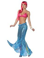 Disfraces de Cosplay Cola de Sirena Cuento de Hadas Festival/Celebración Disfraces de Halloween Color Sólido Faldas Tops Halloween