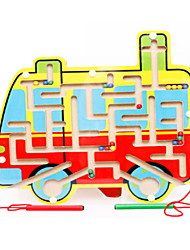 para presente Blocos de Construir Ônibus Animal todas as Idades Brinquedos