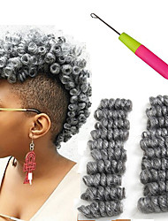 Bouncy Curl crochet braids 100% kanekalon fiber 10inch kenzie curls 20strands/pack bounce kinky twist synthetic short afro marley curly braiding  hair