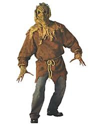 Costumes de Cosplay Squelette/Crâne Zombie Cosplay Fête / Célébration Déguisement d'Halloween Rétro Haut Pantalon Gants Masque Halloween