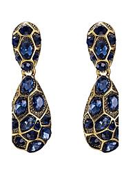 Women's Drop Earrings Crystal Cubic Zirconia AAA Cubic Zirconia Basic Simple Style Classic Costume Jewelry Fashion Vintage Bohemian Punk