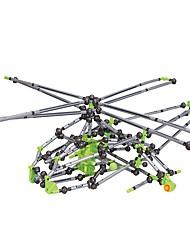 Kit de Bricolage Modèle d'affichage Blocs de Construction Jouet Educatif Pour cadeau Blocs de Construction Poissons HélicoptèrePlastique