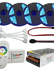 200W Sets de Luces 20000 lm AC100-240 V 20 m 1200 leds RGB