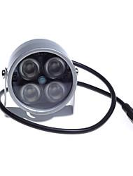 48 led luces ir iluminador luz de visión nocturna para la cámara de cctv de seguridad