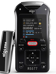 Aigo R5577 Digital Voice Recorder 50 M Long Distance Recording Can Be Fixed Tripod Built-In 360-Degree Surround Sound Microphone 16GB
