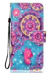 Для samsung galaxy a5 (2017) a3 (2017) телефон случай pu кожаный материал бабочка узор 3d картина телефон корпус a510 a310