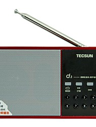 Tecsun D3 Radio Card Breakpoint Memory Older Portable Semiconductor MP3 Mini Mini Sound