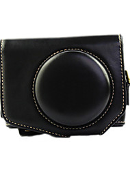 New GX7II  11x8x5cm Camera Case(Crazy Horse Leather) for Canon GX7II Cameras