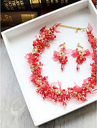 мы будем tulle rhinestone silk сплав headpiece-wedding специальный случай партия / вечерние повязки цветы 3 части