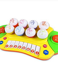Toy Instruments Round Piano Musical Instruments Animal Plastics Hard plastic