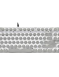 Steam Punk Retro ABS Keycap 87 Keys Set for Mechanical Keyboard