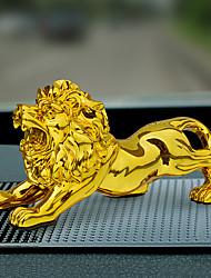 Diy ornements automobiles lions atmosphère créative pendentif voiture de mode&Résine ornements