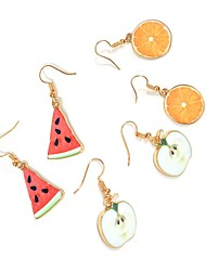 Women's Drop Earrings Fashion Personalized Alloy Fruit For Daily Casual Going out Street Wedding Gifts