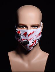 Masque de souris zombie zombie vampire Halloween peur est habillé terroriste sanglant mouche masque décoré