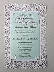 Carte plate Invitations de mariage 50-Cartes d'invitation Echantillons d'invitation Cartes de la Fête des Mères Cartons d'Invitation Pour