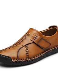 Homme Chaussures Cuir Nappa Automne Hiver Confort Mocassins et Chaussons+D6148 Combinaison Pour Décontracté Soirée & Evénement Noir