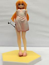 Las figuras de acción del anime Inspirado por Neon Genesis Evangelion Asuka PVC CM Juegos de construcción muñeca de juguete