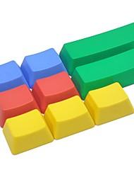 9 touches pbt set de touches coloré pour clavier mécanique non imprimé