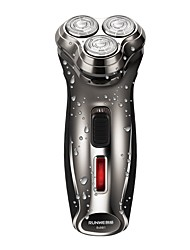 Runwe Electric Shavers Floating Blades Slim and Fashionable Design Long Lasting Battery Lightweight Detachable