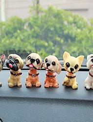 DIY автомобильных украшений собака куклы автомобиль подвеска&Украшения пластиковые