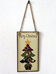 European and American wooden Christmas tree is listed for Christmas Eve Christmas tree wooden hanging board