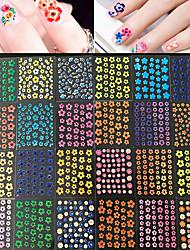 50 Autocollant d'art de clou Autre Maquillage cosmétique Nail Art Design