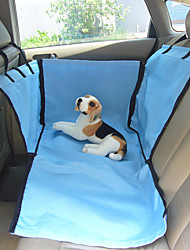 Dog Car Seat Cover Pet Baskets Blue Beige