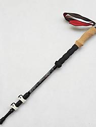 3 Нордические трости 135cm (53 дюйма) Износоустойчивый Простой Вольфрам Углеродное волокно Отдыхитуризм На открытом воздухе