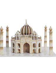 Rompecabezas Kit de Bricolaje Puzzles 3D Bloques de construcción Juguetes de bricolaje Arquitectura Papel duro