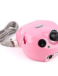 pinpai розовый инструмент для шлифования ногтей - электрический гвоздь с педалью с регулируемой скоростью