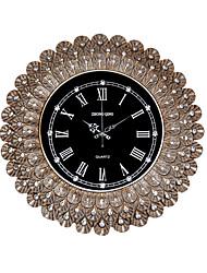 Модерн Традиционный Деревенский Повседневный Ретро Животные Настенные часы,Круглый Резина В помещении Часы