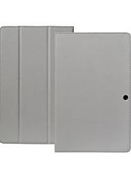 Original teclast x98 air iii / x98 plus étui en cuir pu matériau plastique triple pliage design stand fonction