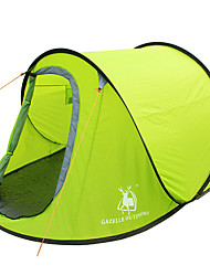 GAZELLE OUTDOORS 2 persons Tent Single Camping Tent Pop up tent Waterproof Windproof Ultraviolet Resistant Foldable 2000-3000 mm for
