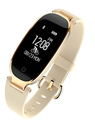 Smart Bracelet Water Resistant / Water Proof Calories Burned Pedometers Exercise Record Heart Rate Monitor Touch Screen Distance Tracking