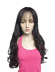 Long Deep Wave Wig Synthetic Fiber Wig Heat Resistant Hairstyle For Women
