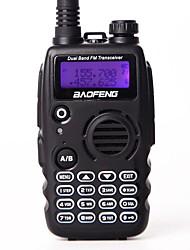 Baofeng uv-a52 walkie talkie uhf vhf double bande bf a52 cb radio 128ch vox camo couleur double affichage émetteur-récepteur pour la radio
