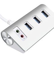 3 ports Hub USB USB 3.0 Micro-B Maintien des données Protection de l'Entrée Dispositif Anti-Surcharges Hub de données
