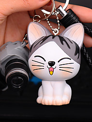 Bag / Phone /  Keychain Charms Cat Camera Cartoon Toy Phone Strap PVC