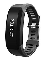 Homens Relógio Inteligente Relógio de Moda Digital Silicone Banda Preta Azul Roxa