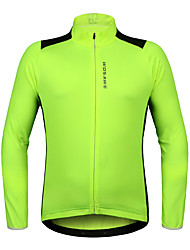 Cycling Jersey Unisex Long Sleeve Bike Jersey Quick Dry Stretchy Breathability Polyester Fashion Spring/FallMountain Cycling Road Cycling