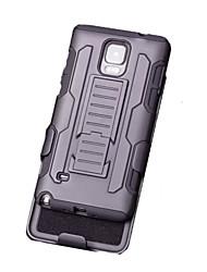 Pour Samsung Galaxy Note Avec Support Coque Coque Arrière Coque Armure Polycarbonate pour Samsung Note 5 Note 4 Note 3