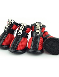 Dog Shoes & Boots Casual/Daily Waterproof Solid