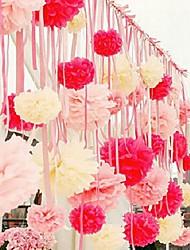 1Pcs Wedding Decoration Decorative Paper Flower Ball Peony Flower Ball Paper Crafts Wholesale Paper Flower Ball