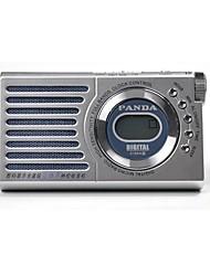 618A Radio portatil Reproductor MP3 Tarjeta TF