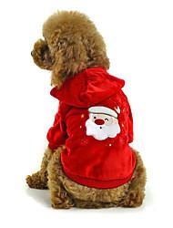 Dog Costume Dog Clothes Christmas Embroidered